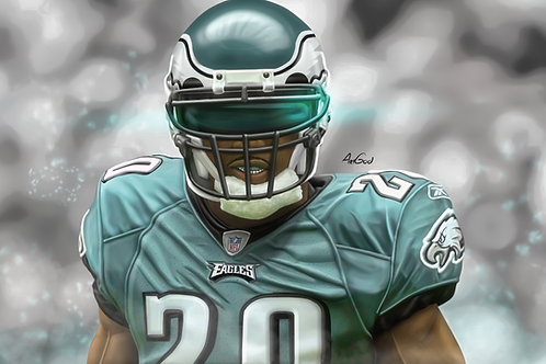 Brian Dawkins Canvas
