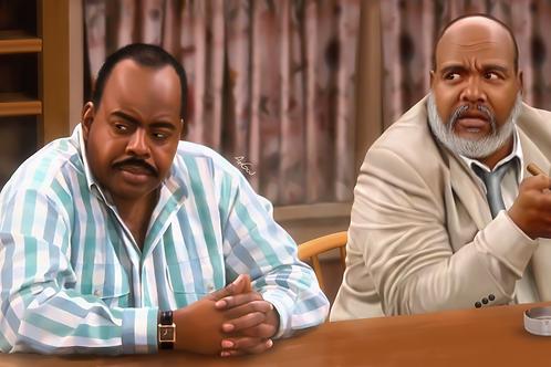 Uncle Phil & Carl winslow Canvas