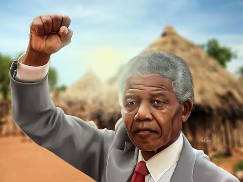 Nelson Mandela Canvas
