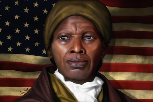 Harriet Tubman Canvas