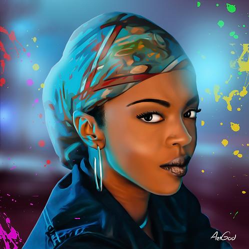 Lauryn Hill Canvas