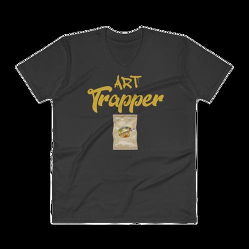 Art Trapper V Neck T-Shirt
