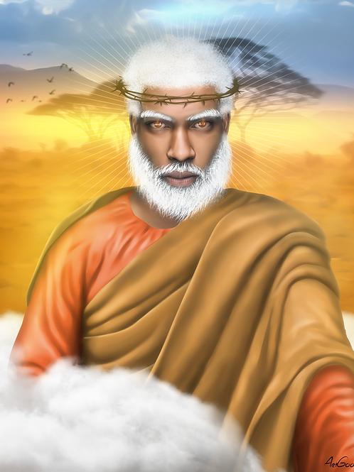 Black Jesus Canvas