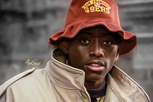 Omar Epps-Juice Canvas
