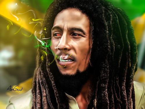 Bob Marley Canvas