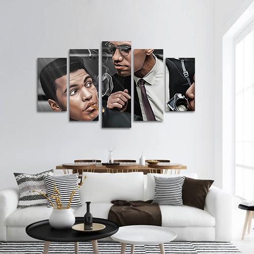 Caption Vibes Multi-Panel Canvas