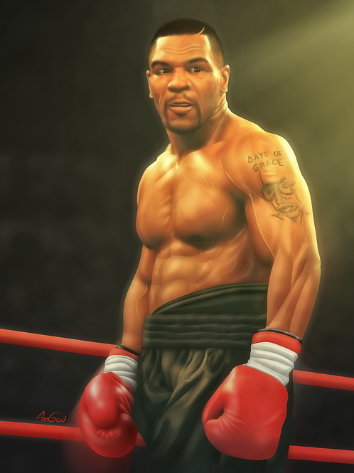 Immortal Tyson Canvas