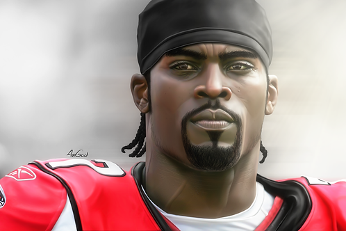 Michael Vick Canvas