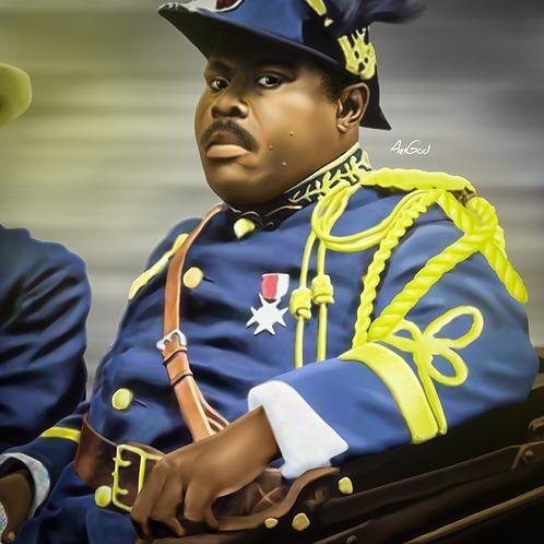Marcus Garvey Canvas