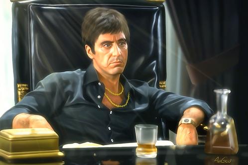 Scarface Canvas