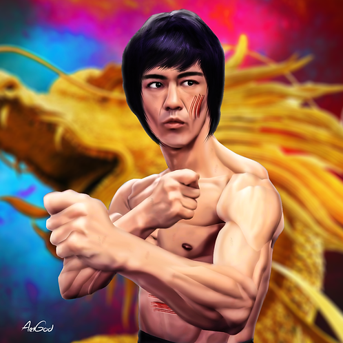 Bruce Lee Canvas
