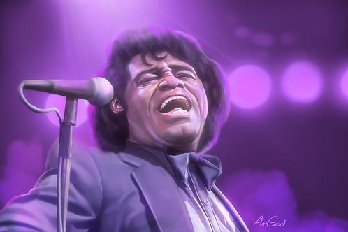 James Brown Canvas