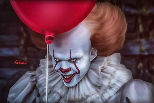 Pennywise Canvas