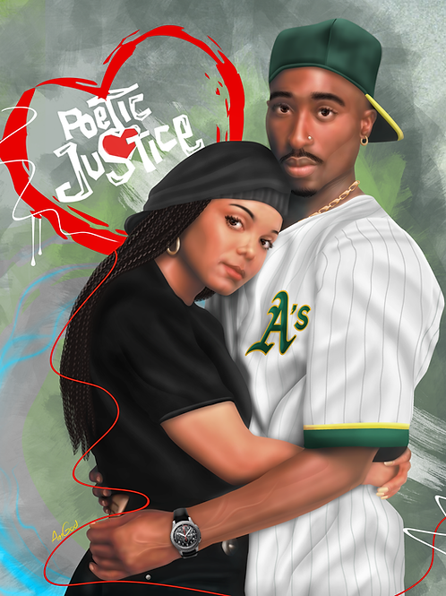 Poetic Justice Canvas