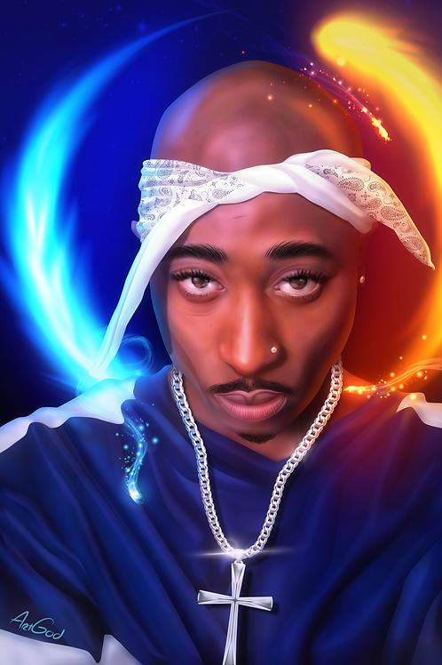 Eternal Tupac Canvas