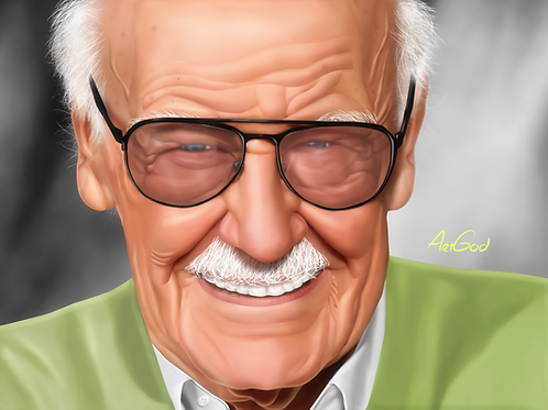 Stan Lee Canvas