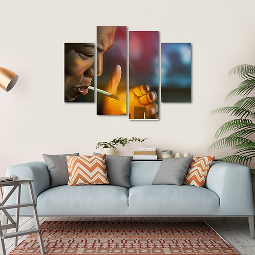 Set It Off Multi-Panel Canvas