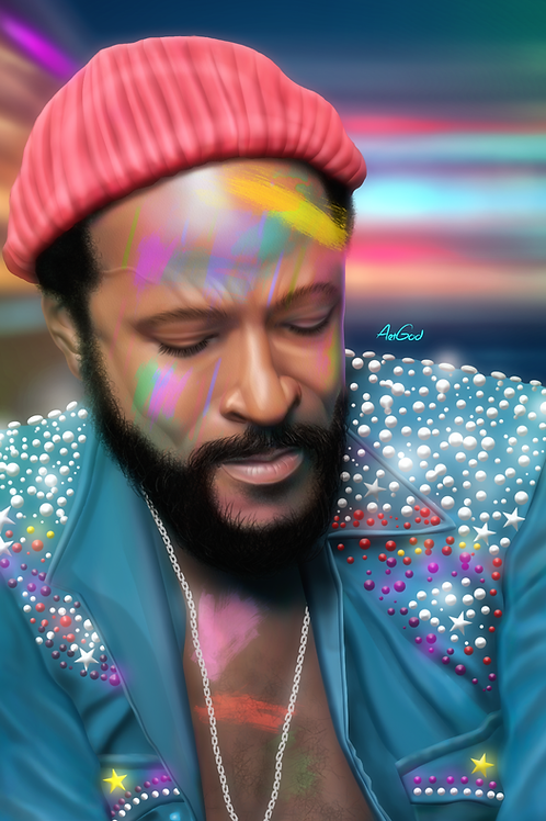 Marvin Gaye Canvas