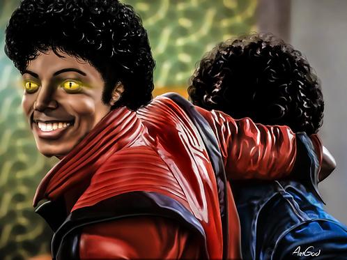 Thriller MJ Canvas