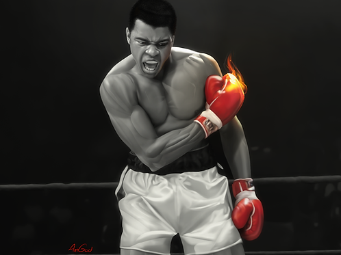The Greatest Of All Time Canvas