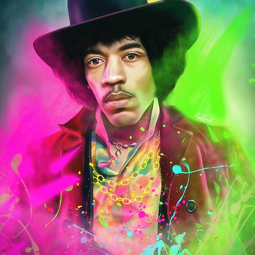Jimi Hendrix Canvas
