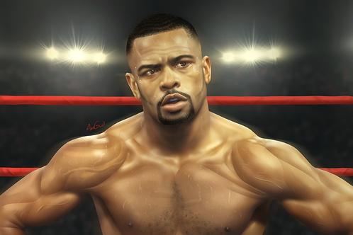 Roy Jones Jr! Canvas