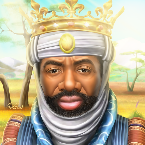 Mansa Musa Canvas