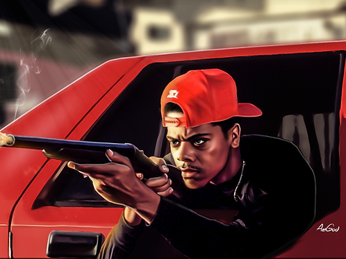 Boyz N The Hood Canvas