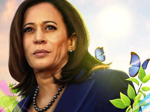 Kamala Harris Canvas
