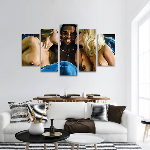 He Got Game Multi-Panel Canvas