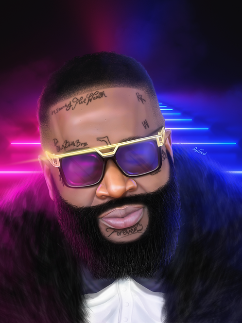 Rick Ross Canvas