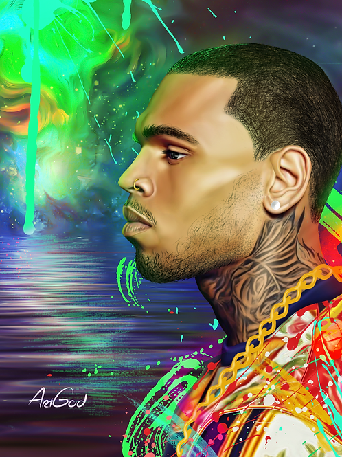 Chris Brown Canvas