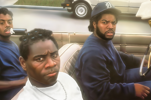 Boyz N The Hood Canvas