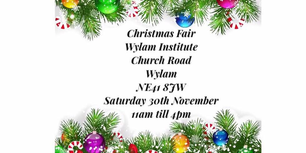 Wylam Institute Christmas Fair