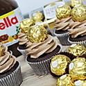 Nutella and Ferrero Rocher Cupcake