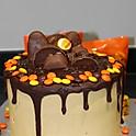 Reese's Chocolate Drip Cake