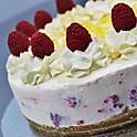 Lemon and Raspberry Cheesecake