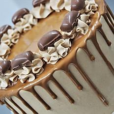 Cadbury Caramel Drip Cake