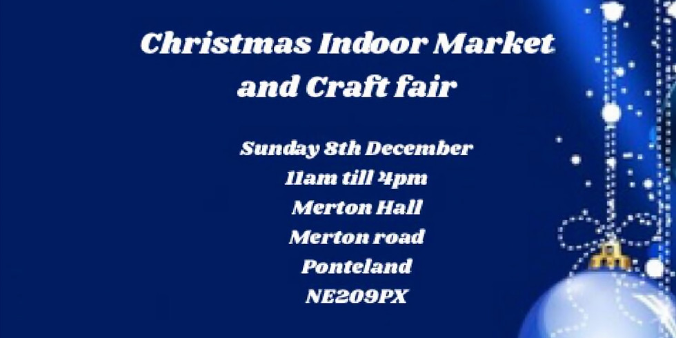 Christmas Indoor Market and Craft Fair