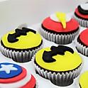 Superhero Cupcakes (12)