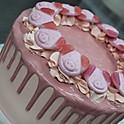 Percy Pig Drip Cake