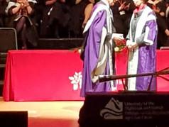 Honorary Doctorate, UHI