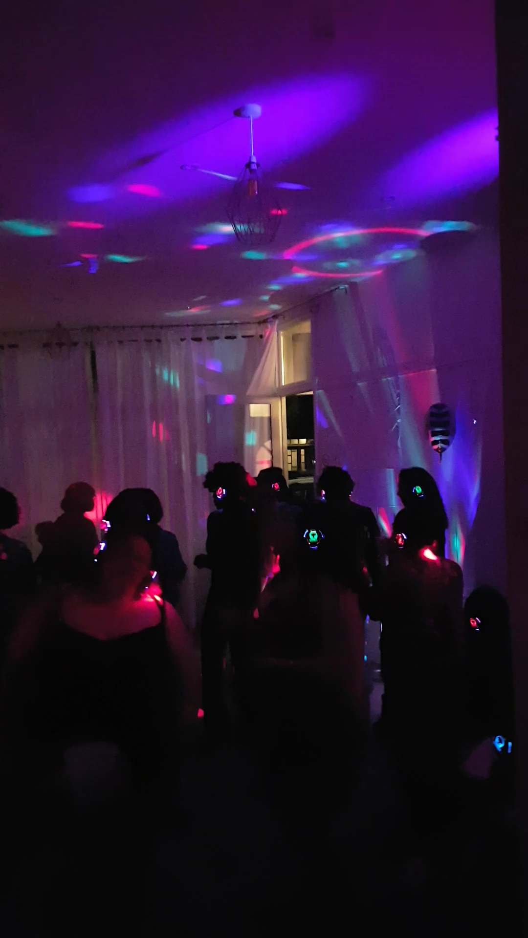 Silent Disco bop _ 40th birthday