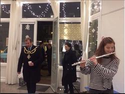 Wandsworth Deputy Mayor visit Christmas 2017