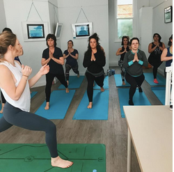 A ProjectYoga class in session at The Li