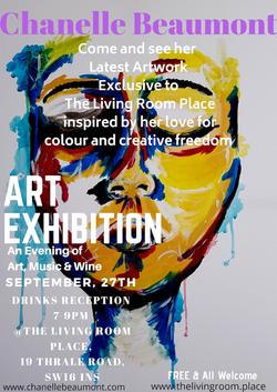 Art Exhibition Chanelle Beaumont 27_9_18