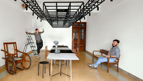 Collaboration in action with Vishwa Shroff and Katsushi Goto