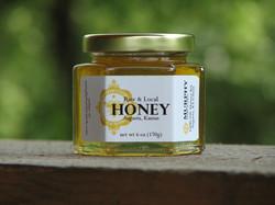 6 oz Glass Clover Honey