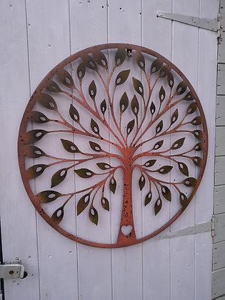 Large Tree of Life Plaque by Accessorise My Garden