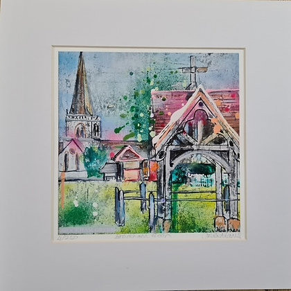 """Brockham Green"" by Julia Adams"